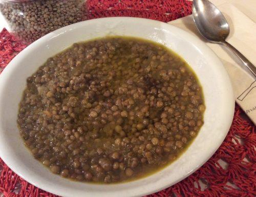 Zuppa di lenticchie (Bergamo)